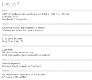 nexus 7 test